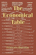Francois Quesnay: the economical table (Tableau economique)