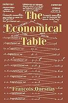 François Quesnay: the economical table (Tableau économique)