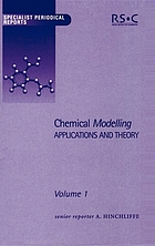 Chemical modelling : applications and theory : a review of the literature published up to June 1999