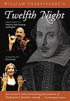William Shakespeare's Twelfth night performed in American Sign Language and English