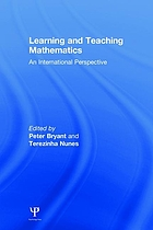 Learning and teaching mathematics : an international perspective
