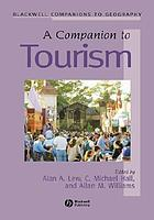 A companion to tourism