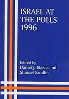 Israel at the polls, 1996