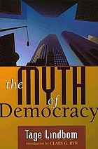 The myth of democracy