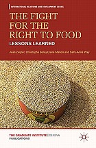 The fight for the right to food : lessons learned