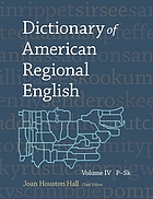 Dictionary of American regional EnglishP-Sk