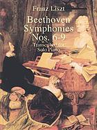 Beethoven symphonies nos. 6-9
