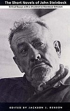 The Short novels of John Steinbeck : critical essays with a checklist to Steinbeck criticism
