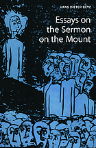 Essays on the Sermon on the mount