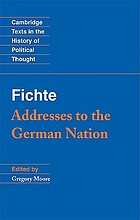 Addresses to the German nation
