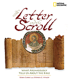 The letter and the scroll : what archaeology tells us about the Bible