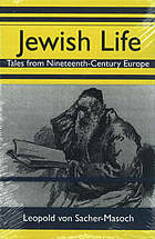 Jewish life : tales from nineteenth-century Europe