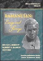 Ramanujan : letters and commentaryRamanujan : essays and surveys