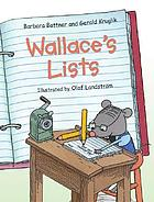 Wallace's listsWallace's lists
