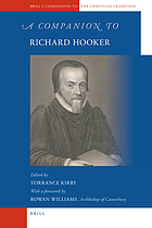 A companion to Richard Hooker