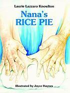 Nana's rice pie