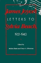 James Joyce's letters to Sylvia Beach, 1921-1940