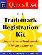 The trademark registration kit