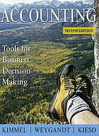 Accounting : tools for business decision making