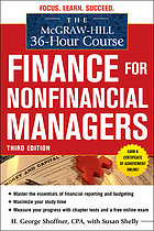 The McGraw-Hill 36-hour course : finance for nonfinancial managers