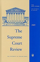The Supreme Court review 2009