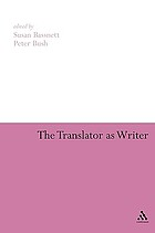 The translator as writer