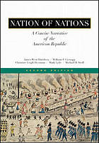 Nation of nations : a concise narrative of the American republic