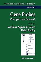 Gene probes : principles and protocols