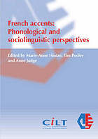 French accents : phonological and sociolinguistic perspectives