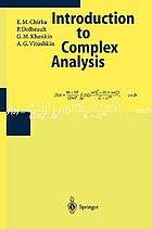 Several complex variables I : introduction to complex analysis
