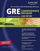 GRE® exam : comprehensive program