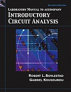 Laboratory manual to accompany Introductory circuit analysis