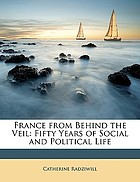France from behind the veil: the fifty years of social and political life