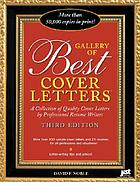 Gallery of best cover letters : a collection of quality cover letters by professional resume writers