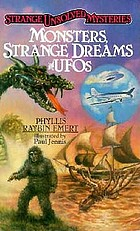 Monsters, strange dreams and UFOs