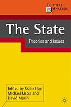 The state : theories and issues