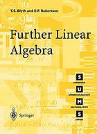 Further linear algebra