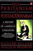 From Puritanism to postmodernism : a history of American literatureFrom Puritanism to Postmodernism : History of American Literature