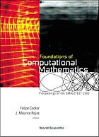 Foundations of computational mathematics : proceedings of the Smalefest 2000, Hong Kong 13 - 17 July 2000