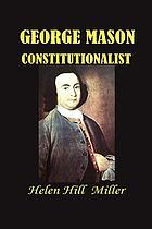 George Mason, constitutionalist