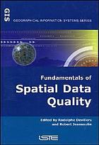 Fundamentals of spatial data quality