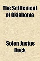 The settlement of Oklahoma