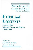 Faith and contexts