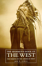 The mammoth book of the West