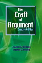The craft of argument, concise edition