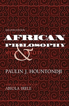 African philosophy : myth and reality