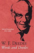 Words and Deedes : selected journalism 1931-2006
