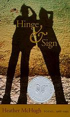 Hinge & sign : poems, 1968-1993