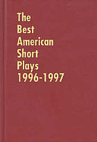 The Best American Short Plays, 1996-1997