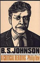 B.S. Johnson : a critical reading